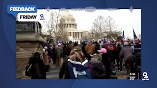 Feedback Friday: U.S. Capitol protest turns violent