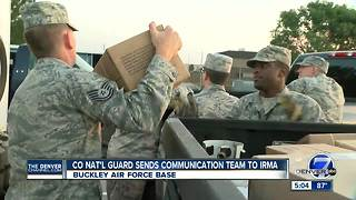 Colorado National Guard sends communication team to Hurricane Irma - Video