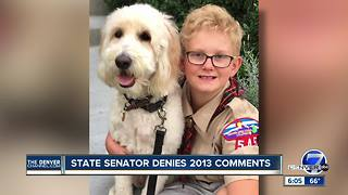Broomfield Cub Scout kicked out after asking Republican state senator hard questions - Video