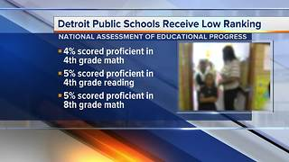 Nation's school report card ranks Detroit schools as worst in the national - Video