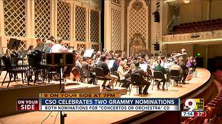 CSO celebrates two Grammy nominations - Video