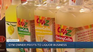 Gym owner pivots to liquor business