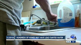 Aurora warns residents after lead detected in drinking water