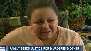 Family seeks justice for murdered mother - Video