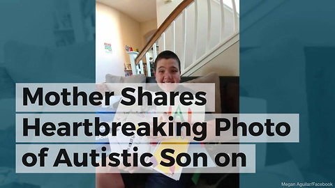 Mother Shares Heartbreaking Photo of Autistic Son on Birthday After No One Shows to Party