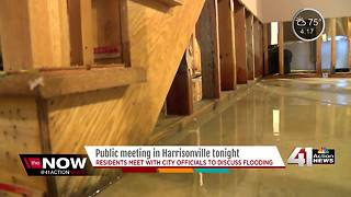 Public meeting on Harrisonville flooding tonight