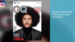 GQ Names Colin Kaepernick 'Citizen of the Year' - Video