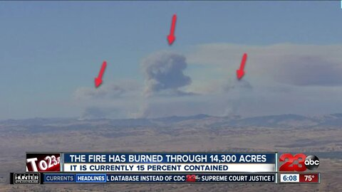 Mineral Fire up to 16,500 acres
