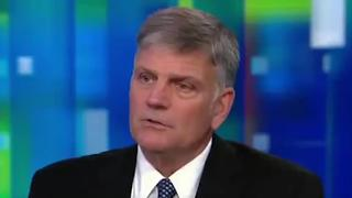 Reverend Franklin Graham Says Muslims And Christians Worship Different Gods - Video