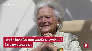 The special relationship of George H. W. and Barbara Bush | Rare People - Video