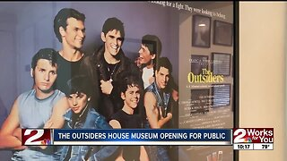 The Outsiders House Museum Opening