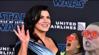 Gina Carano Vs. the Twitter Blue Checkmarks (Again)