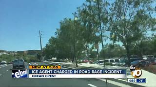 ICE agent charged in road rage incident - Video