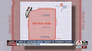 Ride KC offers free-ride coupon for new micro-transit service in Johnson County