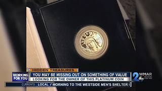 Are you missing a platinum coin? - Video