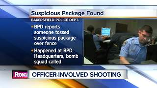 Bomb squad called to Bakersfield Police headquarters