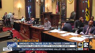 Lawmakers water down gun bill mandating 1-year sentence - Video