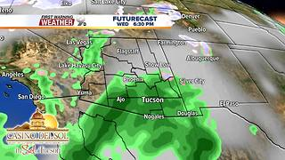 FORECAST: Showers for Valentine's Day - Video