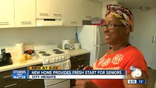 New home provides frest start for seniors - Video