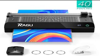 Ragu Thermal 6 in 1 Laminator with Touchscreen Unboxing & Review