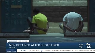 Several detained after shots fired at La Mesa business