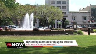 Elyria solicits donations for $900,000 fountain with budget shortfall looming - Video