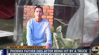 Family holds vigil for Phoenix man killed after being struck by car - Video