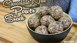 Chocolate nut energy snack - Video