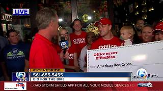 Steve Weagle Ride for the Red Cross  in Boca Raton - Video