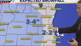 Brian Niznansky's Sunday evening Storm Team 4cast - Video