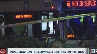Coroner identifies man shot on RTC bus in Las Vegas - Video