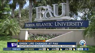 Alcohol-related incidents prompt changes to FAU Greek life - Video