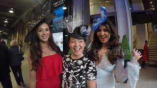 Charlotte Dawson, Shelby Tribble show off Layla Leigh hats for Ascot - Video
