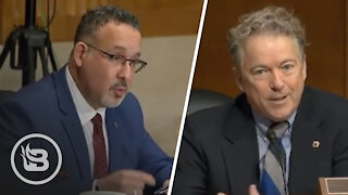 Rand Paul Corners Biden's Education Nominee on Boys Competing in Girl's Sports