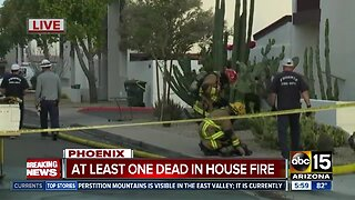 One dead after Phoenix apartment fire