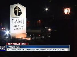 Controversy over abandoned church building