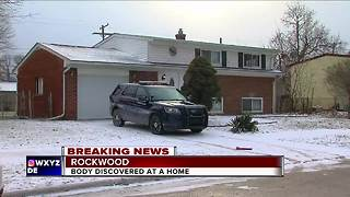 Rockwood police investigating a dead body found wrapped in plastic - Video