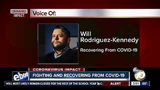 Will Rodriguez-Kennedy talks about his fight, recovery from COVID-19