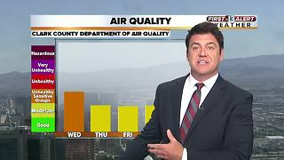 Air quality advisory extended to June 27