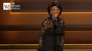 Maxine Waters Uses Glamour Awards For Anti Trump Agenda, Chants Impeach 45 From Stage (Clip) - Video