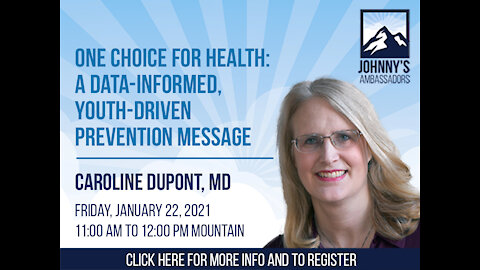 One Choice for Health: A Data-Informed, Youth-Driven Prevention Message