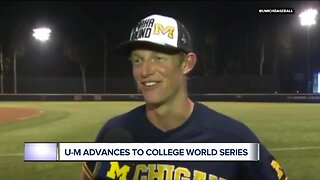 Michigan baseball's ride to College World Series is historic