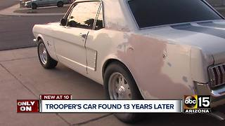 DPS trooper's dream car found and returned to him years later - Video