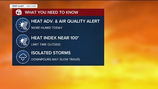 Heat and air quality