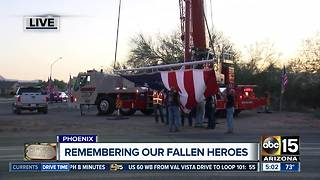 Valley group honors fallen heroes on Memorial Day - Video