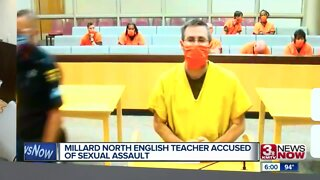 Millard North teacher accused of sexual assault