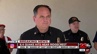 Kern County Fire Department Press Conference
