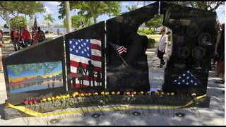 Gold Star Families Memorial Monument unveiled in West Palm Beach