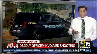 Man shot and killed by police in Avondale - Video