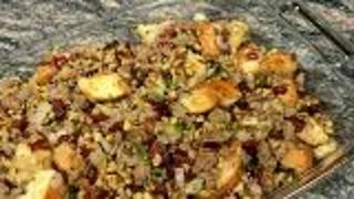 Cranberry Stuffing - Video